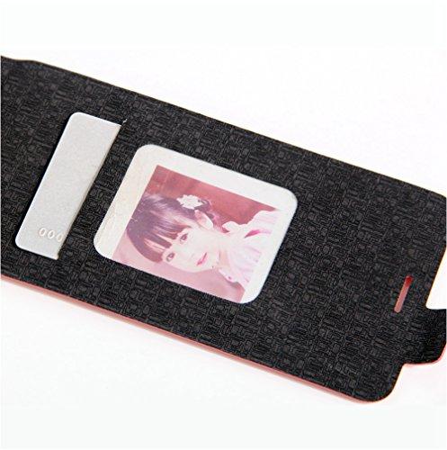 Funda Lenovo Vibe C(A2020),Manyip Caja del teléfono del cuero,Protector de Pantalla de Slim Case Estilo Billetera con Ranuras para Tarjetas, Soporte Plegable, Cierre Magnético F