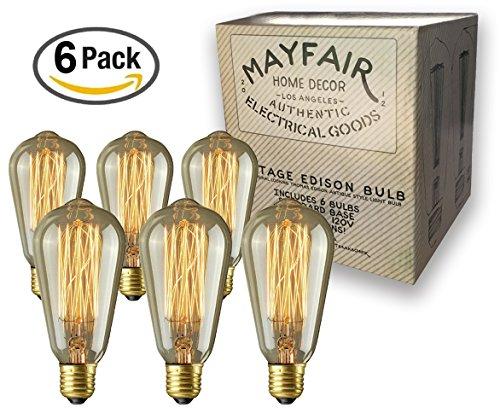 Clear Led Filament String Lights - 4