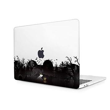 TwoL Ultra Delgado Funda Dura Carcasa para MacBook Pro 15-15,4 Pulgadas Retina A1398 Bosque Oscuro