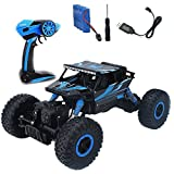 RC Rock Crawler HappyCell 1 18 Scale Car 2.4Ghz 4WD Monster Truck Electric ...