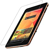 Skinomi Wikipad 7'' Gaming Tablet Screen Protector + Light Wood Full Body, TechSkin Light Wood Skin for Wikipad 7'' Gaming Tablet with Anti-Bubble Clear Film Screen