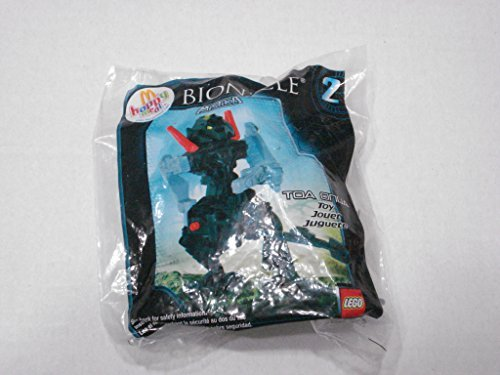 2008 McDonalds Happy Meal Toy Lego Bionicle Mistika #2 Toa Onua MIP