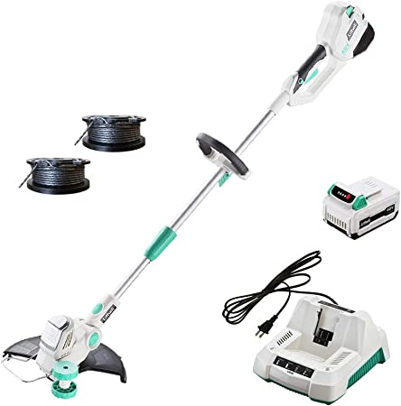 Amazon.com: LiTHELi 40V 13 pulgadas Cordless String Trimmer ...
