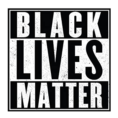 "Black Lives Matter - 4"" Bumper Sticker: Automotive"