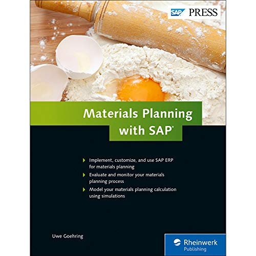 Materials Planning with SAP ERP (SAP MRP) (SAP PRESS) (Management Sap Time)