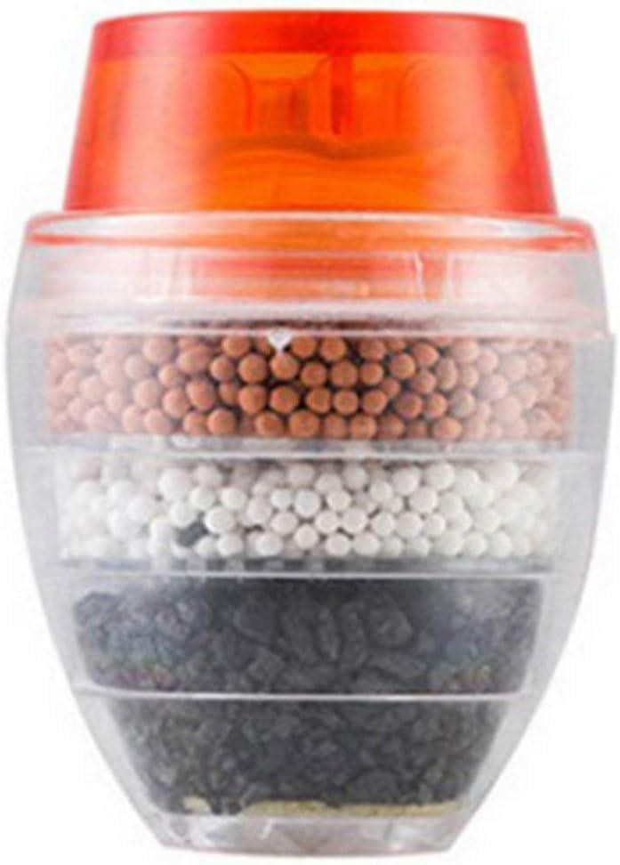Kongqiabona-UK Filtre de Robinet de Cuisine Universel purificateur deau du Robinet Portable purificateur deau Multicouche /à Charbon Actif Domestique
