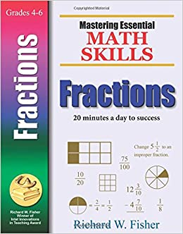 Mastering essential math skills fractions richard w fisher mastering essential math skills fractions richard w fisher 9780966621150 amazon books fandeluxe Choice Image