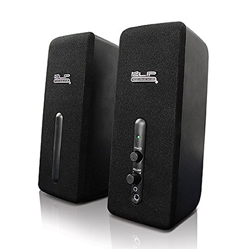 (Klip Xtreme StereoBytes 2.0 Channel Stereo Speakers- 4 Watt Peak Power- 2W RMS- 2
