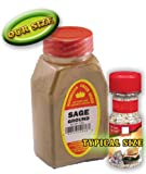 The Spice Hunter Sage, Rubbed, Organic, 0.9-Ounce Jar