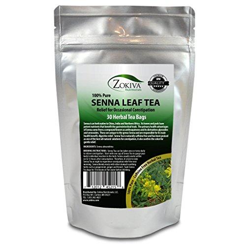 Senna Tea 30 Bags 100% Pure, All-Natural, Herbal -