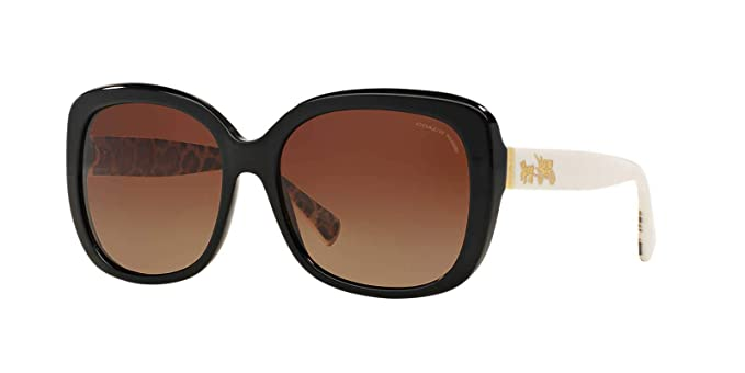 051edab81ee Image Unavailable. Image not available for. Colour  Coach Women HC8158  Sunglasses 58mm