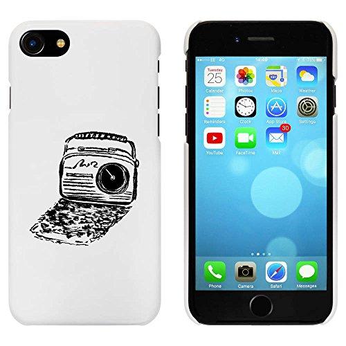 Blanc 'Radio Rétro' étui / housse pour iPhone 7 (MC00068706)