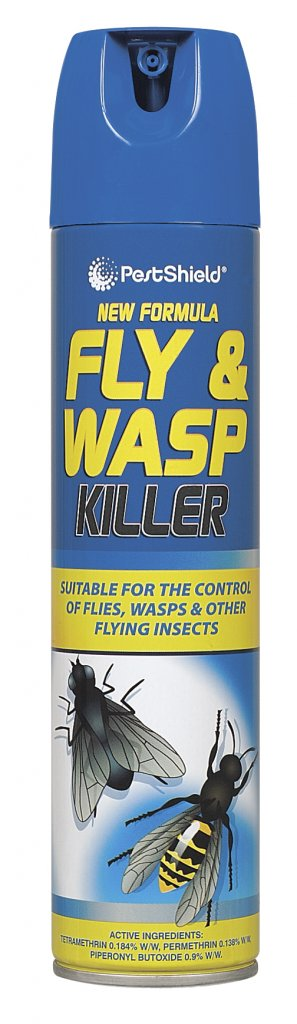 PestShield Fly & Wasp Kill Aerosol 300ml