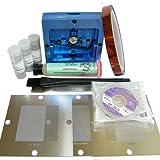 LarcoLais BGA Reball Station + 0.5mm 0.6mm 0.76mm Universal Stencil for Computer Video Game Rework Reballing Repair Kts