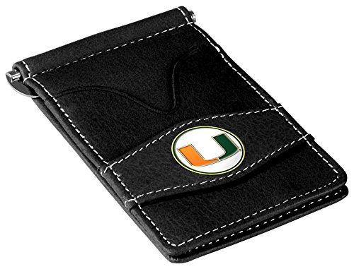 NCAA Miami Hurricanes Players Wallet - Black (Player Ncaa Miami Hurricanes)