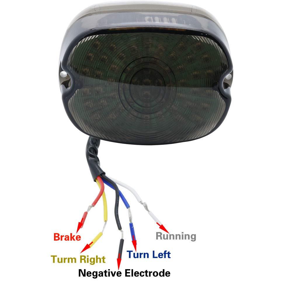 SOYAVISION Smoked Taillights LED Brake Turn Signal Lights for ...