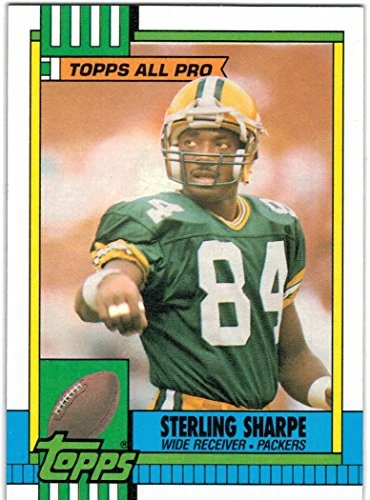 1990 Topps with Traded Green Bay Packers Team Set with Sterling Sharpe & Don Majkowski - 22 Cards