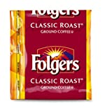 FOLGER'S Classic Roast Coffee Regular Fraction Packs, 1.5-Ounce Boxes (Pack of 150)