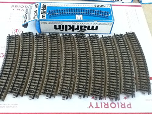 MARKLIN HO M Tracks All Metal Special Curves for SWITCHES 5206 (10 PCS)