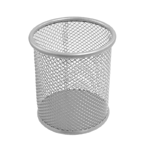 uxcell Silver Cylinder Shaped Container product image