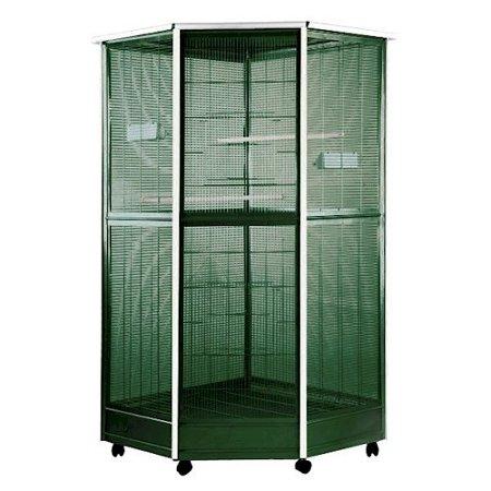 A&E Cage Small Corner Aviary 37