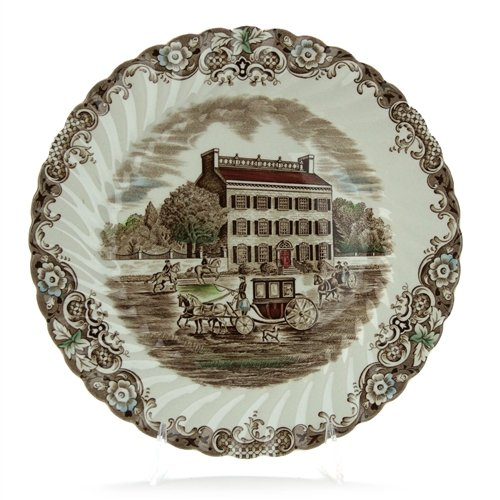 Heritage Hall, Brown & Colors by Johnson Bros., China Dinner -