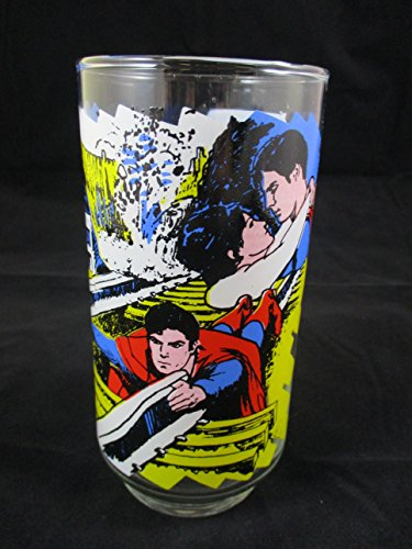 (1978 Superman The Movie Pepsi Collectors Drinking Glass The Caped Wonder to the Rescue)