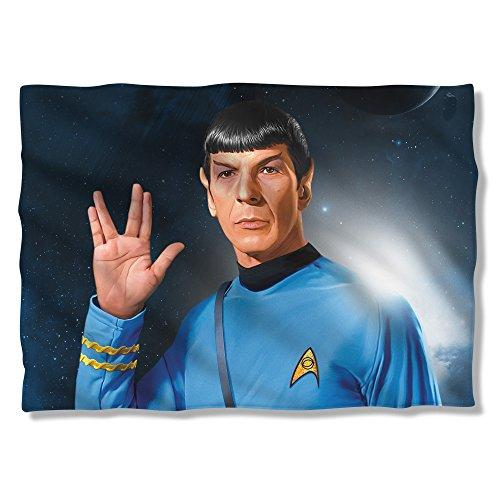 Star Trek 1960S Sci Fi Action Tv Series Spock Salute Pillow Case