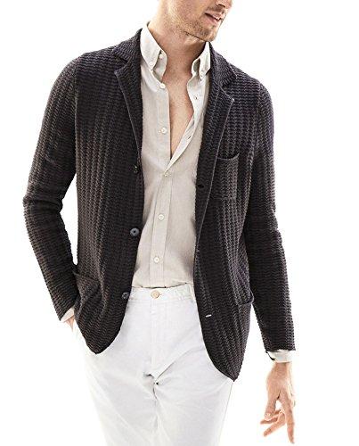 Massimo Dutti Men Blazer-style textured weave