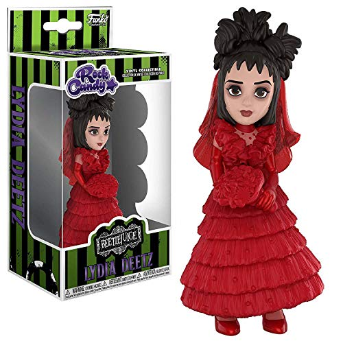 Lydia From Beetlejuice (Funko Rock Candy: Beetlejuice Horror - Lydia (Red Wedding Dress) Collectible Figure,)