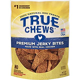 True Chews Premium Jerky Bites Made with Real Chicken 12oz (TC-08385)