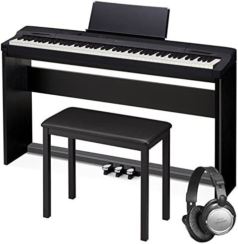 4. Casio Px-160 Privia Touch Sensitive 88 Key Tri Sensor Scaled Hammer Action Keyboard Digital Piano With 18 Built-In Tones Package With Bench