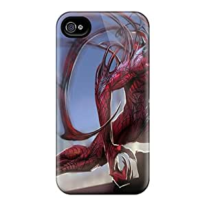 Hot Tpu Cover Case For Iphone/ 4/4s Case Cover Skin - Carnage Rooftop