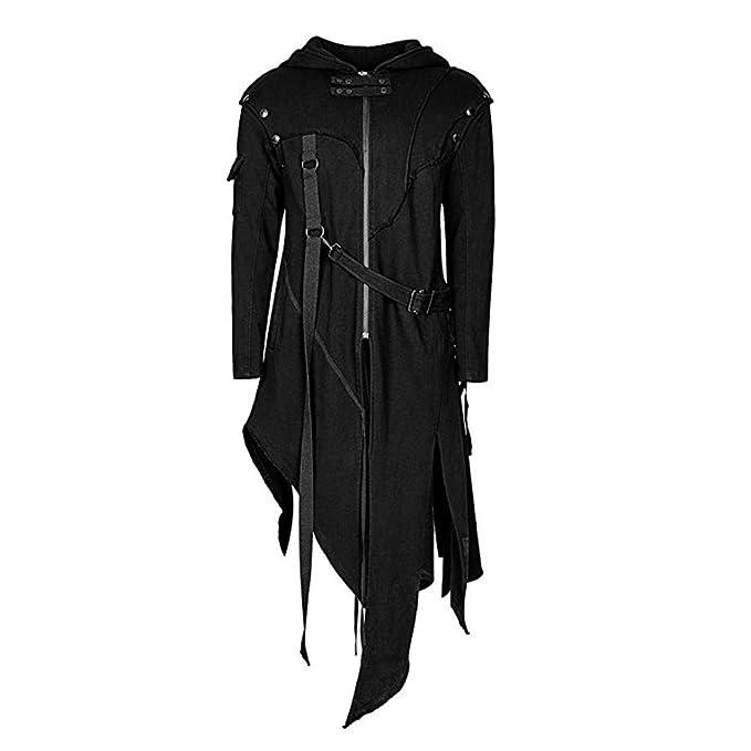 Men's Steampunk Jackets, Coats & Suits Mens Tailcoat JacketF_Gotal Mens Steampunk Victorian Jacket Zipper Gothic Tailcoat Costume Vintage Outwear Coats $40.48 AT vintagedancer.com