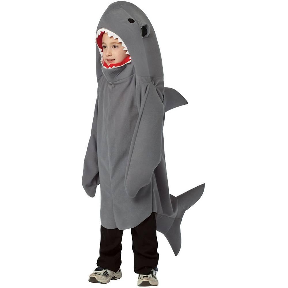 Hai-Kostüm für Kinder - 4 bis 6 Jahre