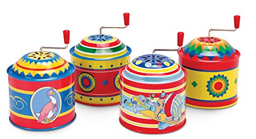 Tin Music Boxes Toy (each item sold separately)