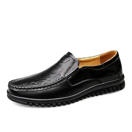Yajie-shoes, Hombres Que conducen Mocasines, resbalón Conveniente de la Moda Ocasional en