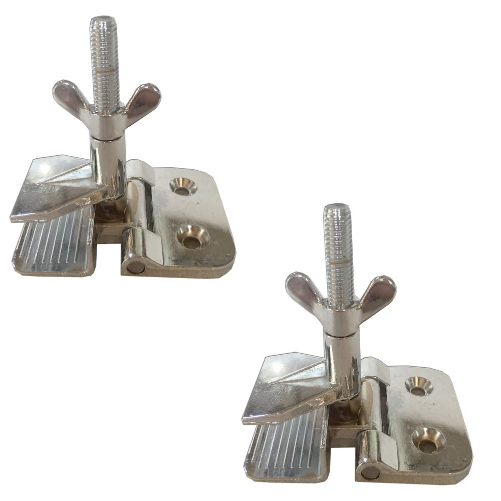 2 pc of Screen Frame Butterfly Hinge Clamp for Silk Screen Printing Sturdy Quality 009022, screws NOT included by Screen Printing Consumables Artdid
