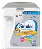 Similac Abbott Pro-Advance Non-GMO Powder Infant Formula with Iron with 2'-FL HMO for Immune Support 34 oz (Various Packs Available) (4 pack)