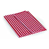 "Camco 51019 Red/White 52"" x 84"" Table Cloth"