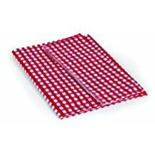 """Camco 51019 Red/White 52"""" x 84"""" Table Cloth"""
