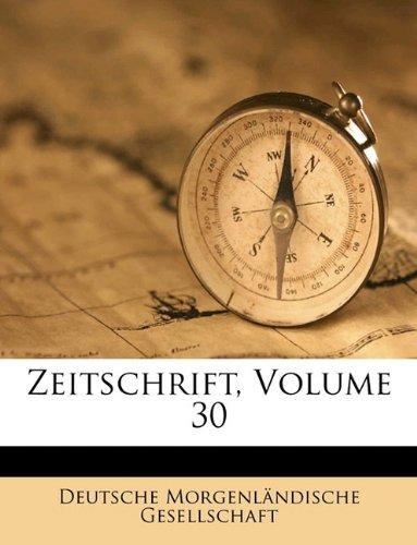 Zeitschrift, Volume 30 (German Edition) pdf