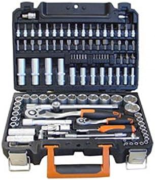 """Fesa - Maletin estuche de herramientas 113 Piezas ½ """" & ¼ """": Amazon.es: Bricolaje y herramientas"""