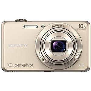 Sony DSC-WX220/N Cybershot 18.2MP Point & Shoot Digital Camera (Gold)