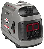 Briggs & Stratton Petrol Portable Inverter Generator PowerSmart Series P2200 featuring 2200 Watt/1700 Watt clean power, ultra quiet and lightweight