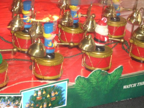 amazoncom mr christmas vintage santas marching band musical holiday display home kitchen