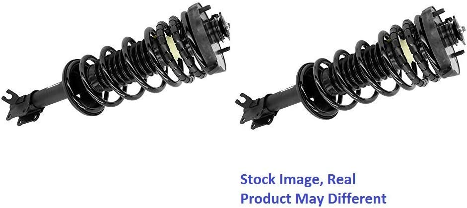 Note: 4WD, Crew Cab Pickup, w//o Electronic Suspension Stirling 2013 For Chevrolet Silverado 1500 Front Complete Struts Assembly x 2