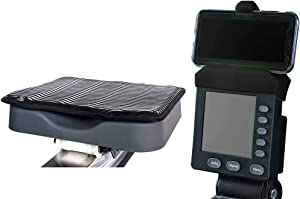 The Performance Rowing Machine Combo: Rowing Machine Cushion and Phone Holder Compatible with PM5 Monitor from Concept 2