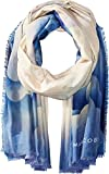 Marc Jacobs Women's Clouds Scarf, BLUE MULTI, One Size