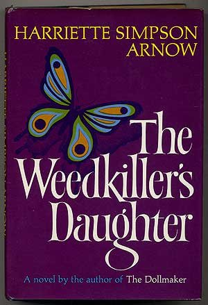 book cover of The Weedkiller\'s Daughter